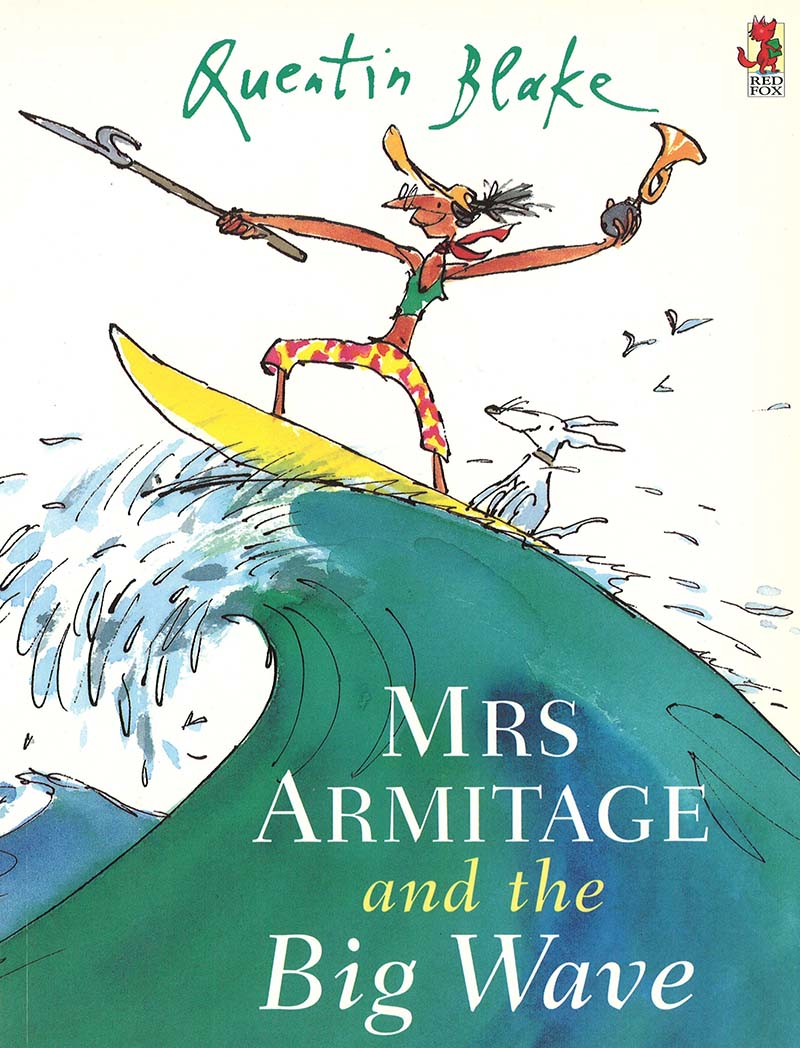 Mrs Armitage And The Big Wave - Jacket