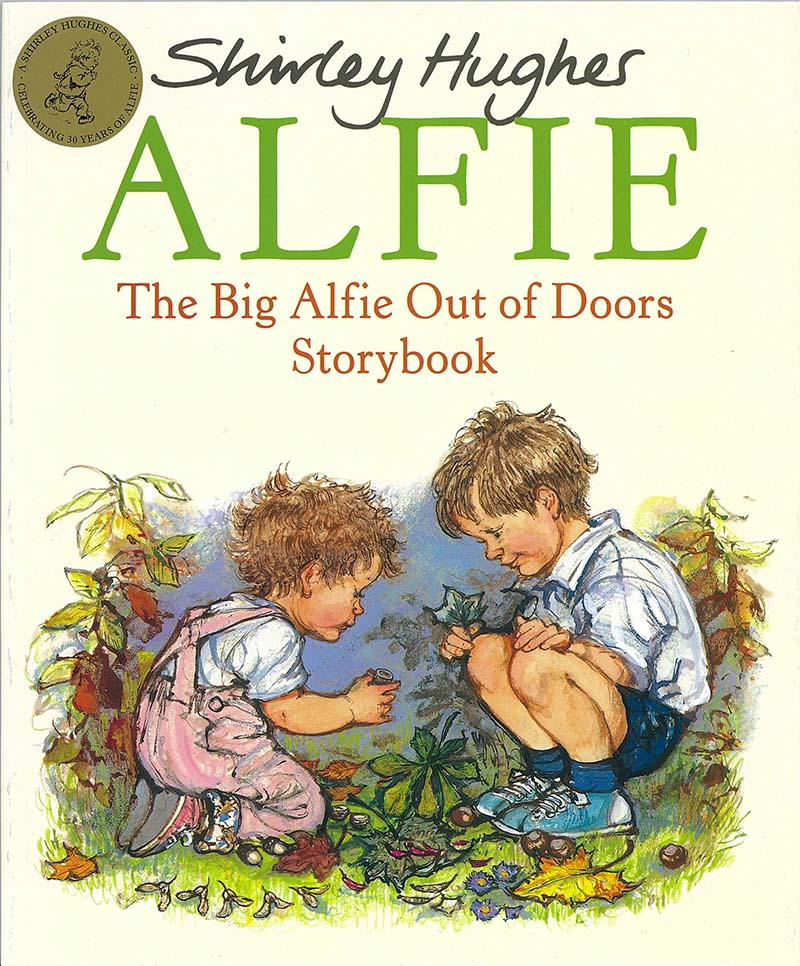 The Big Alfie Out Of Doors Storybook - Jacket