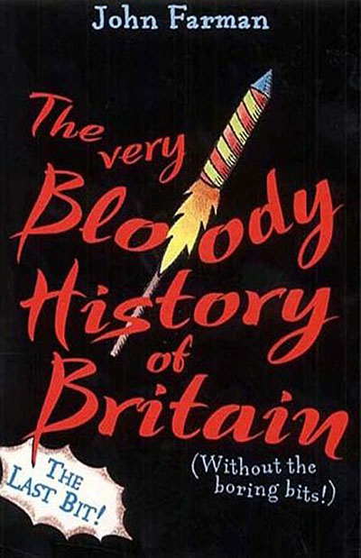 The Very Bloody History Of Britain, 2 - Jacket