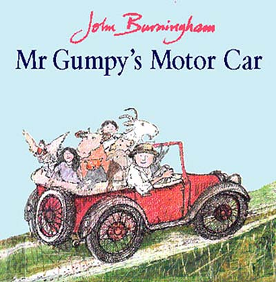 Mr Gumpy's Motor Car - Jacket