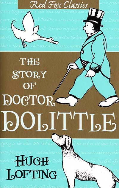 The Story Of Doctor Dolittle - Jacket