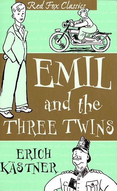 Emil And The Three Twins - Jacket