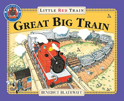 The Little Red Train: Great Big Train - Jacket