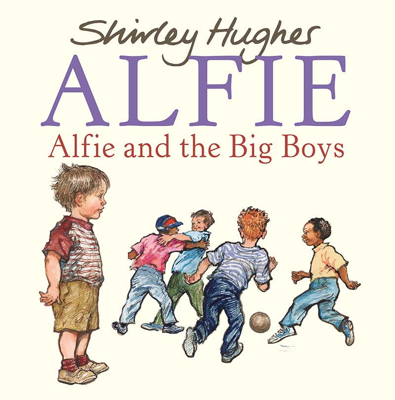 Alfie and the Big Boys - Jacket