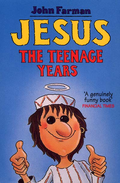Jesus - The Teenage Years - Jacket