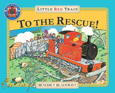 The Little Red Train: To The Rescue - Jacket
