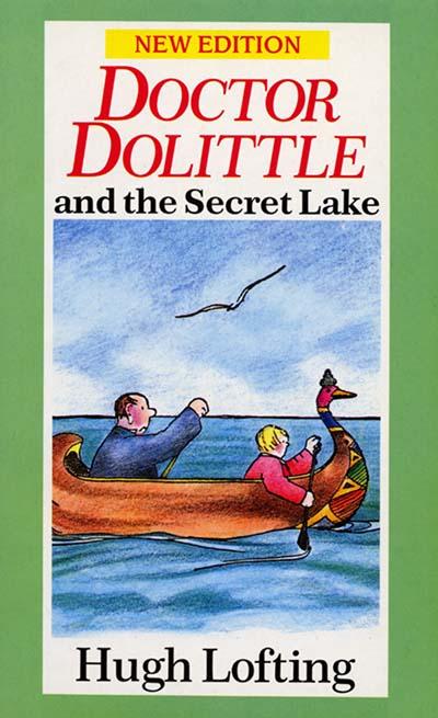 Dr. Dolittle And The Secret Lake - Jacket