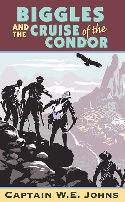 Biggles and Cruise of the Condor - Jacket