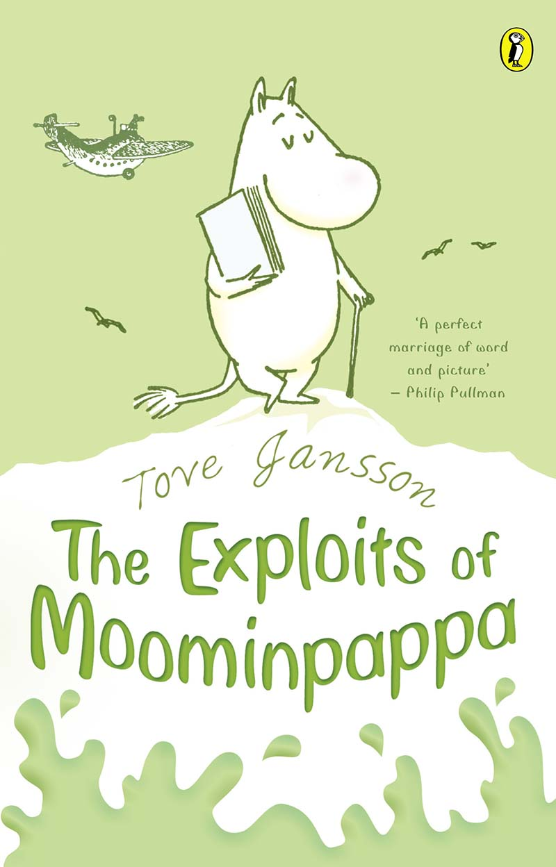 The Exploits of Moominpappa - Jacket