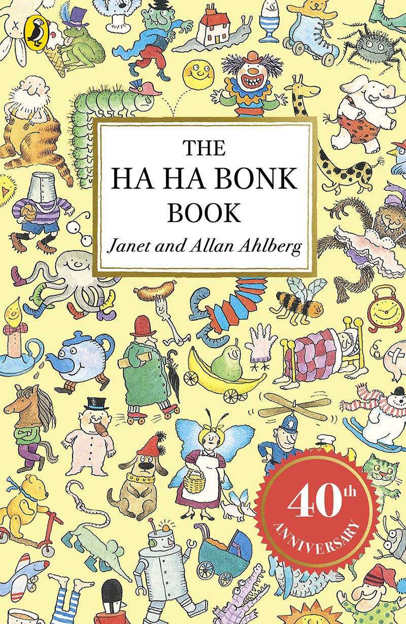 The Ha Ha Bonk Book - Jacket