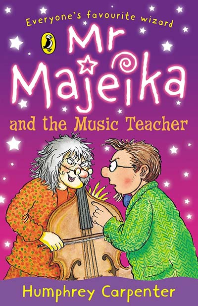 Mr Majeika and the Music Teacher - Jacket