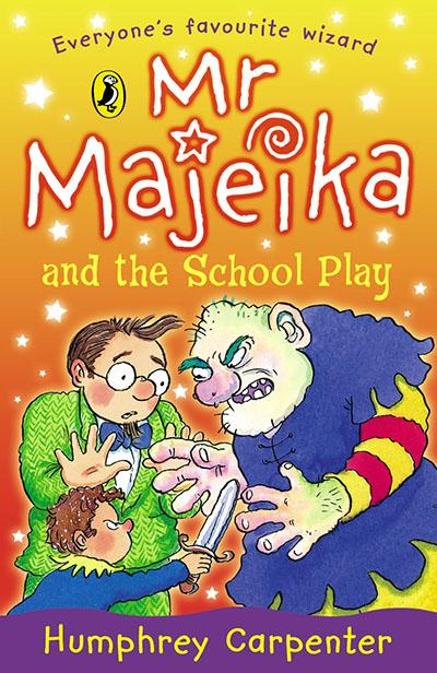 Mr Majeika and the School Play - Jacket