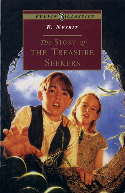 The Story of the Treasure Seekers - Jacket