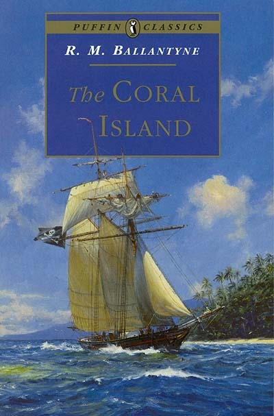 The Coral Island - Jacket