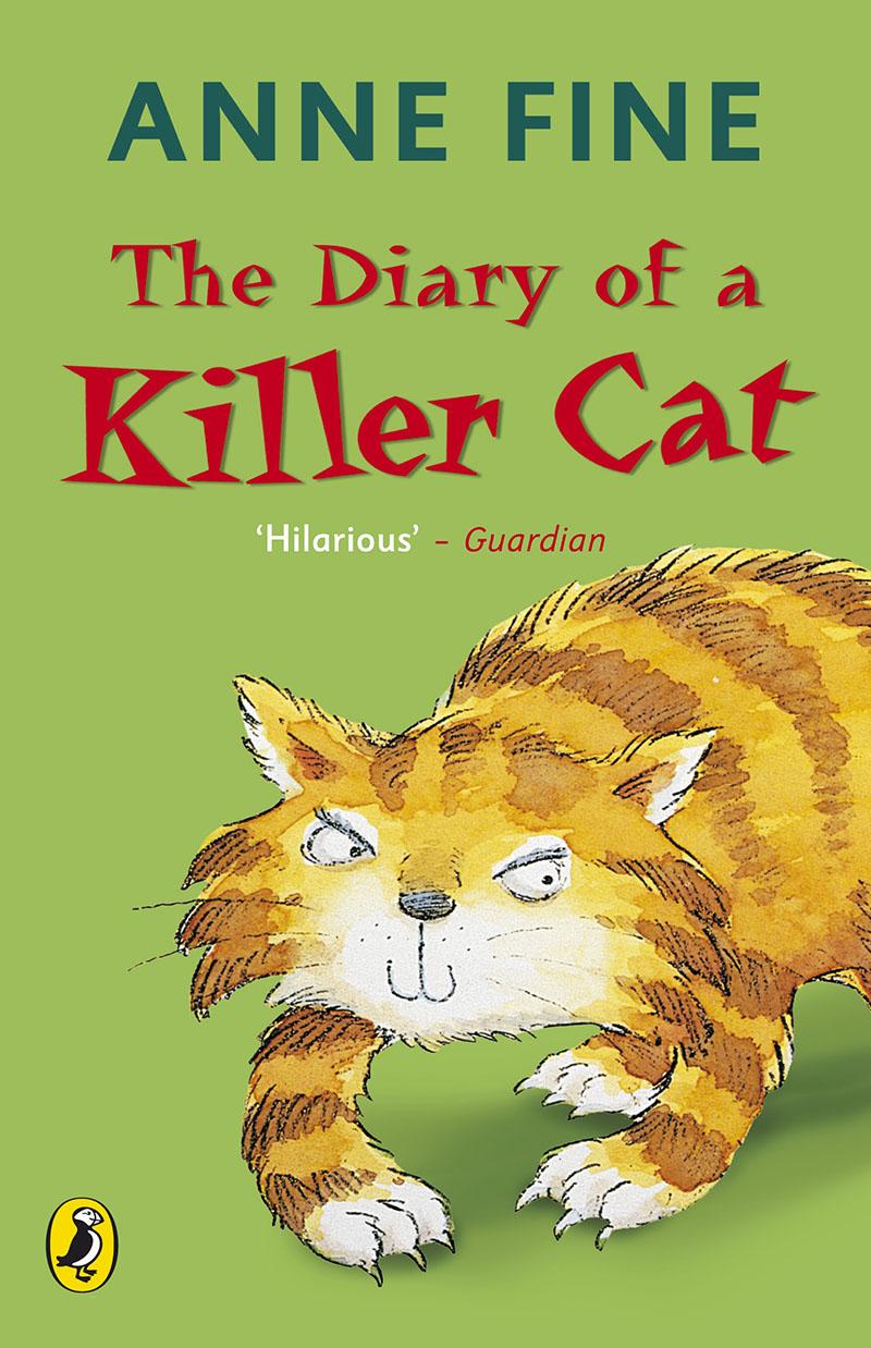 The Diary of a Killer Cat - Jacket