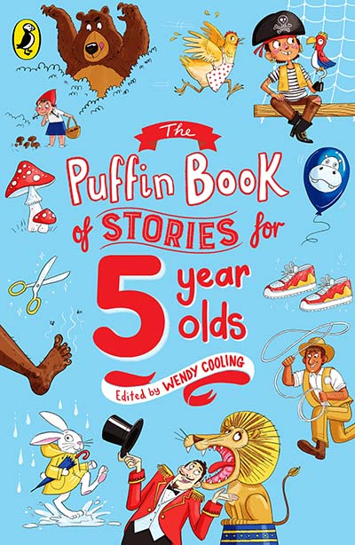 The Puffin Book of Stories for Five-year-olds - Jacket