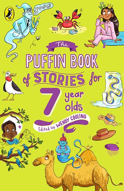 The Puffin Book of Stories for Seven-year-olds - Jacket