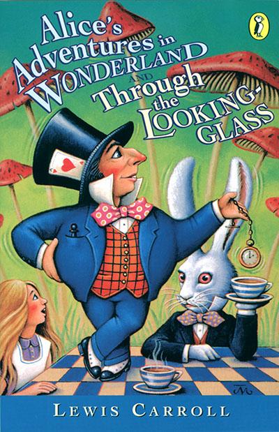 Alice's Adventures in Wonderland & Through the Looking Glass - Jacket