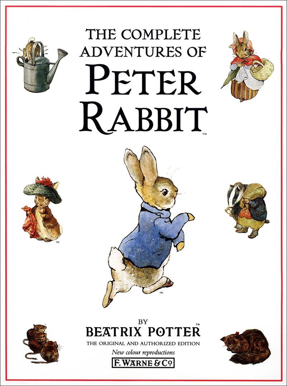 The Complete Adventures of Peter Rabbit - Jacket