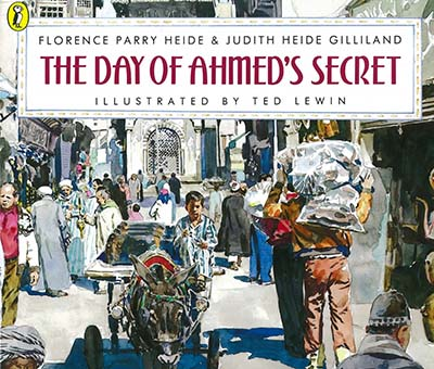 The Day of Ahmed's Secret - Jacket