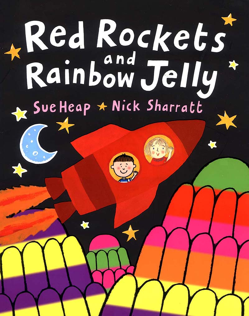 Red Rockets and Rainbow Jelly - Jacket