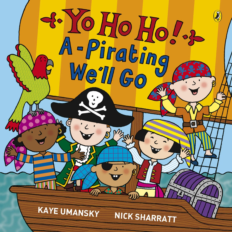 Yo Ho Ho! A-Pirating We'll Go - Jacket