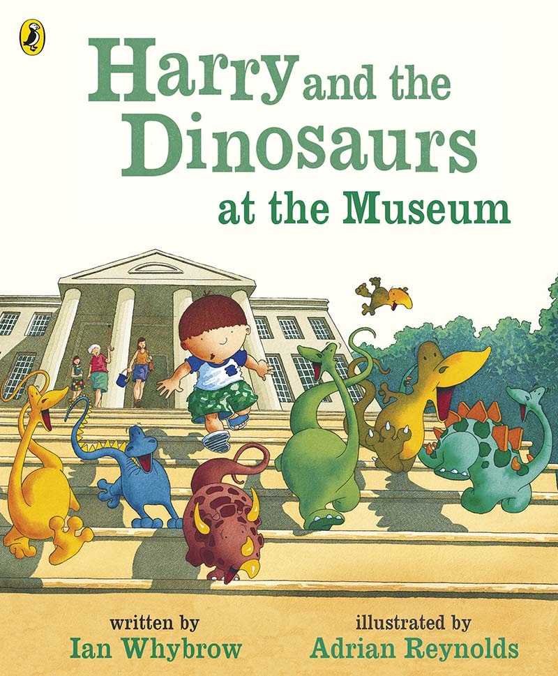 Harry and the Dinosaurs at the Museum - Jacket