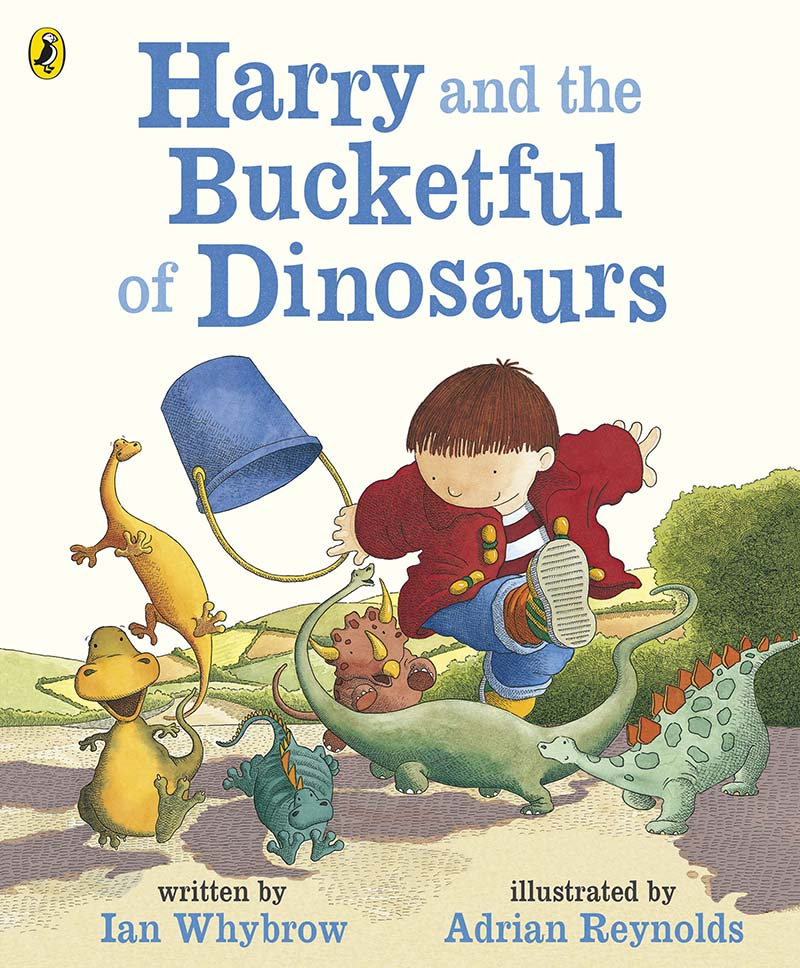 Harry and the Bucketful of Dinosaurs - Jacket