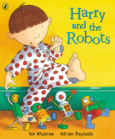Harry and the Robots - Jacket