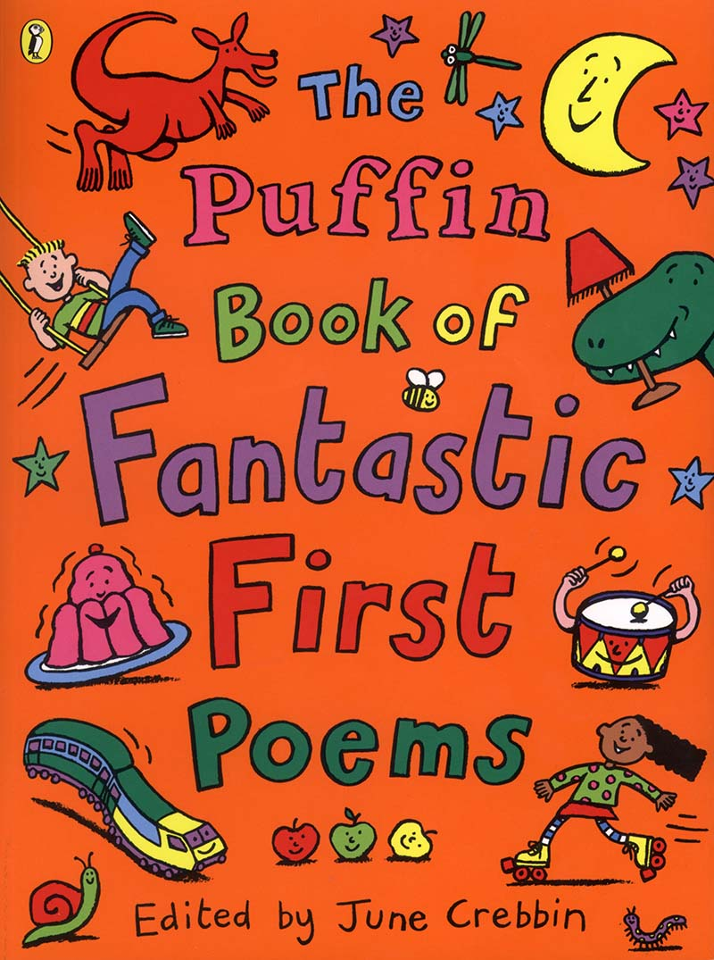 The Puffin Book of Fantastic First Poems - Jacket