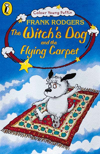 The Witch's Dog and the Flying Carpet - Jacket