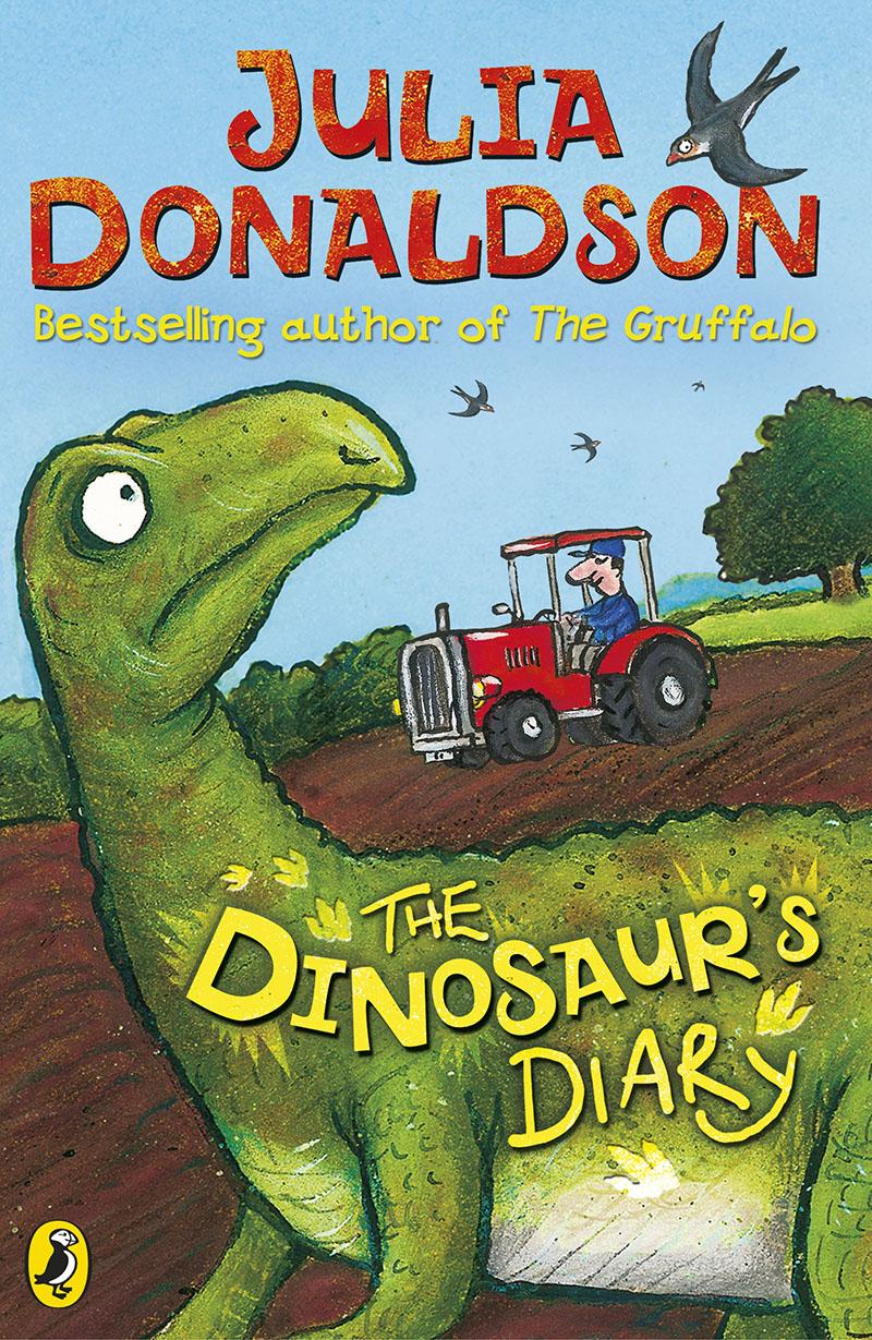 The Dinosaur's Diary - Jacket
