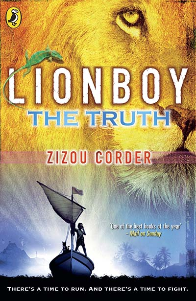 Lionboy: The Truth - Jacket