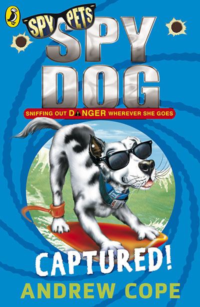 Spy Dog: Captured! - Jacket