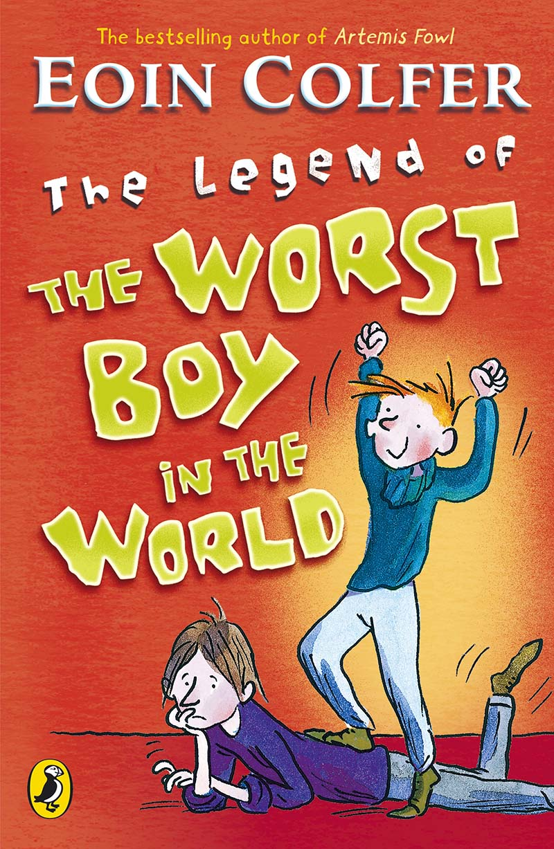 The Legend of the Worst Boy in the World - Jacket
