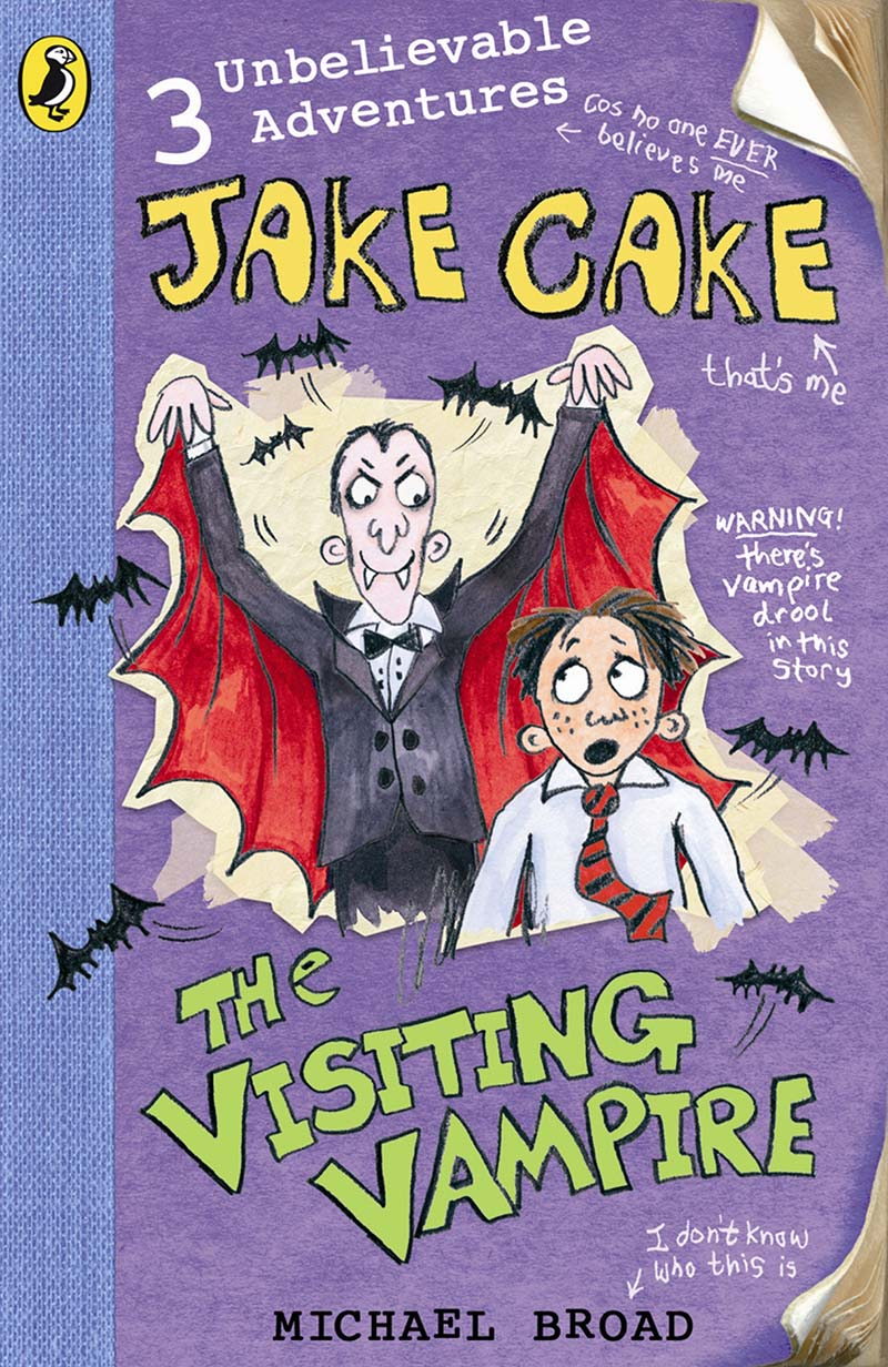Jake Cake: The Visiting Vampire - Jacket