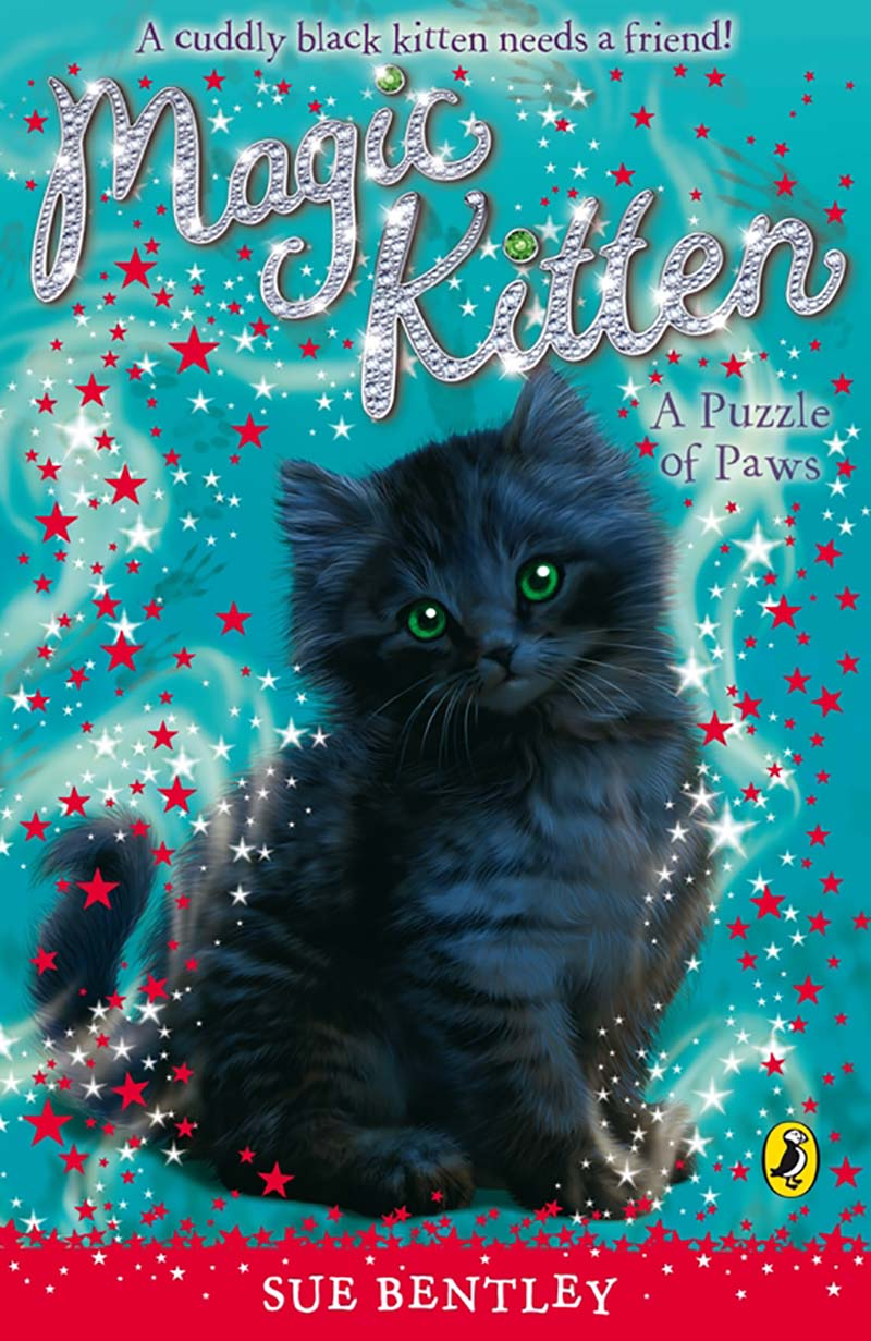 Magic Kitten: A Puzzle of Paws - Jacket
