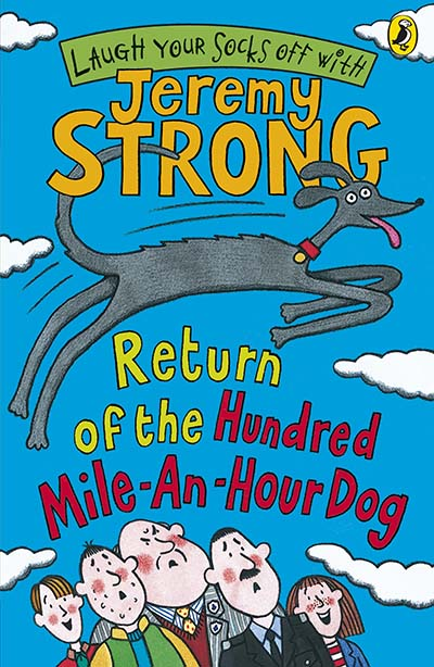 Return of the Hundred-Mile-an-Hour Dog - Jacket