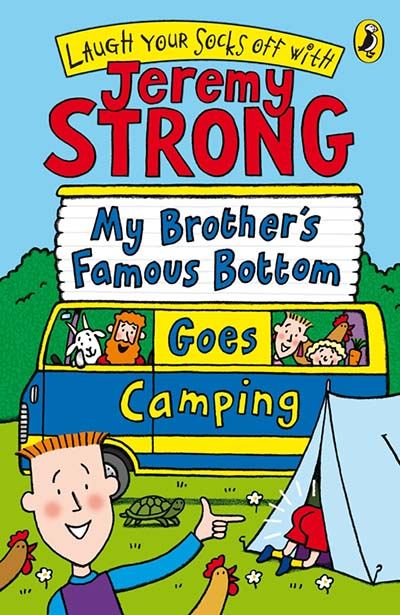 My Brother's Famous Bottom Goes Camping - Jacket
