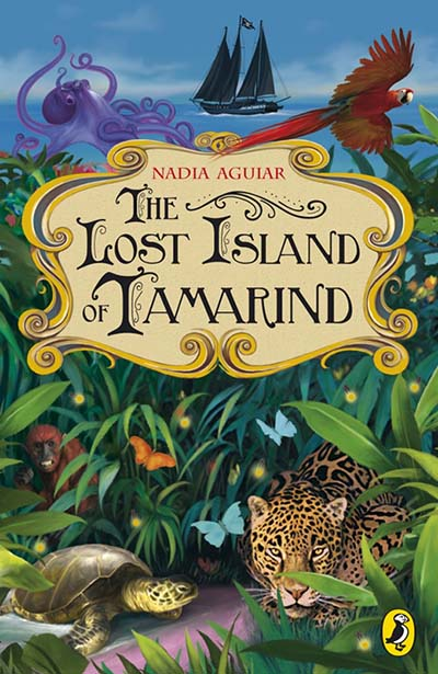 The Lost Island of Tamarind - Jacket