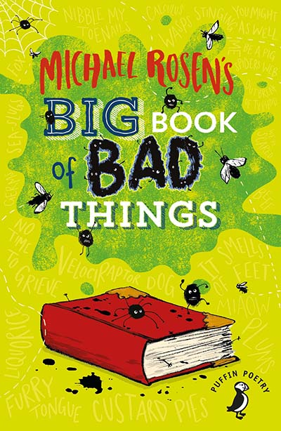 Michael Rosen's Big Book of Bad Things - Jacket