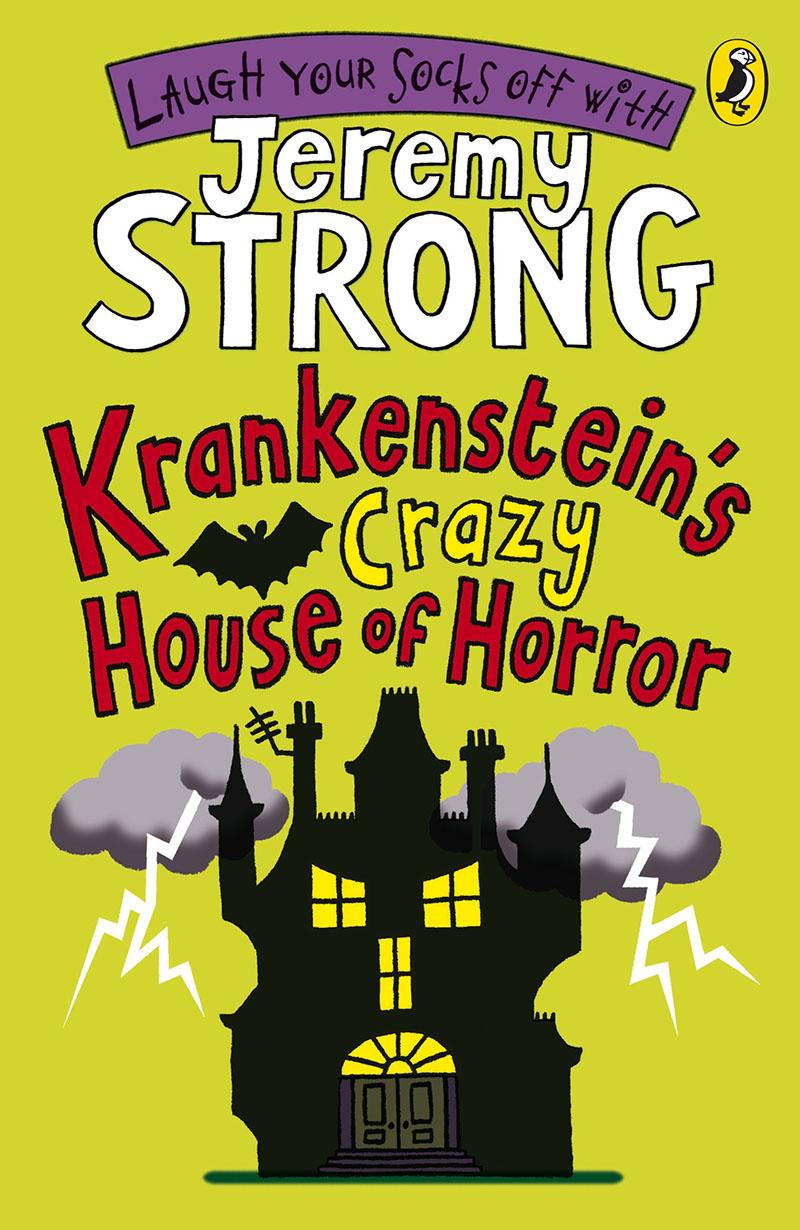 Krankenstein's Crazy House of Horror - Jacket