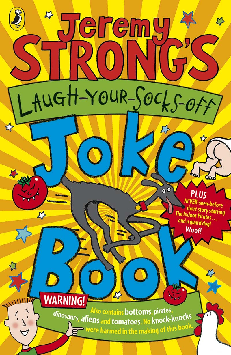 Jeremy Strong's Laugh-Your-Socks-Off Joke Book - Jacket