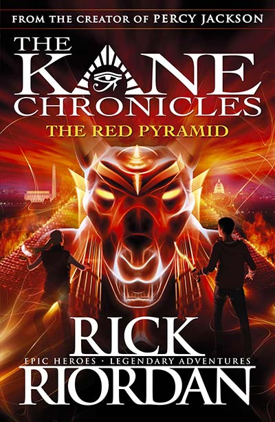 The Red Pyramid (The Kane Chronicles Book 1) - Jacket