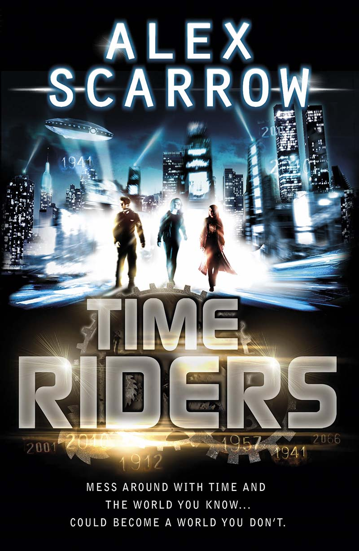 TimeRiders (Book 1) - Jacket