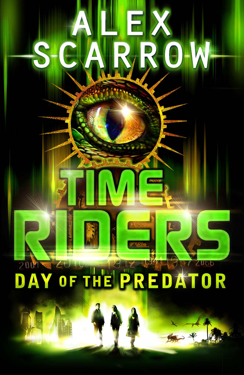 TimeRiders: Day of the Predator (Book 2) - Jacket