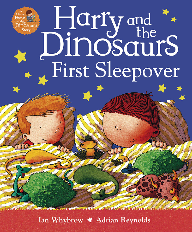 Harry and the Dinosaurs First Sleepover - Jacket