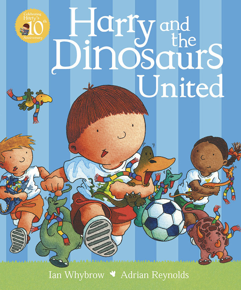 Harry and the Dinosaurs United - Jacket