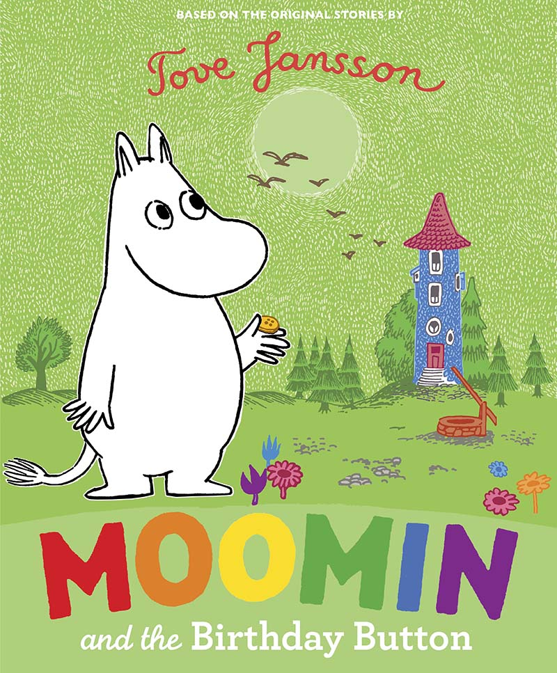 Moomin and the Birthday Button - Jacket