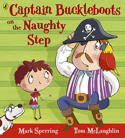 Captain Buckleboots on the Naughty Step - Jacket